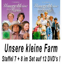 12 DVDs * UNSERE KLEINE FARM ~ SEASON / STAFFEL 7 + 8 # NEU OVP +
