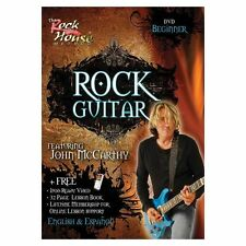 Learn Rock Guitar, Beginner, John McCarthy, Rock House Method (DVD, 2008)