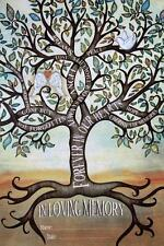 'The Signing Tree'-In Loving Memory Guests To Sign Canvas Print #487970 NEW!