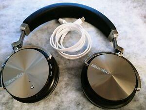 Bluedio T4S Active Over the Ear Wireless Headphone - Black