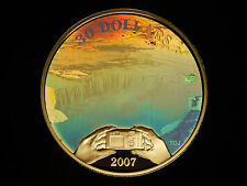 2007 Canada Sterling Silver $30 Niagra Falls Hologram Proof