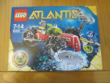 Lego Atlantis 8059 Retired Rare Underwater Craft Brand New in Box