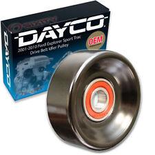 Dayco Drive Belt Idler Pulley for 2001-2010 Ford Explorer Sport Trac 4.0L V6 vk