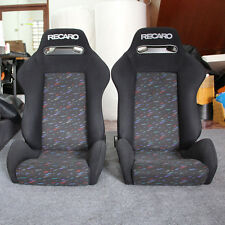 2 ORIGINAL RECARO SR3 Conffiti SEATS RACING BMW HONDA PORSCHE AUTO CARS (pair1)