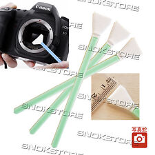 3x KIT SWAB PULIZIA SENSORE CCD CMOS DIGITAL CAMERA CLEANING SENSOR 15mm SINGLE