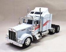 Newray 1:32 Kenworth W900 Diecast Truck Model Toy New White