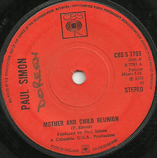 PAUL SIMON - MOTHER AND CHILD REUNION / PARANOIA BLUES - 70s REGGAE POP COVER