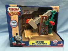 Thomas & Friends Wooden Railway Fisher Price: Sodor Oil Derrick New Rare