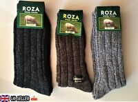 3 PAIRS MEN LONG WOOL THERMAL SOCKS RICH THICK WALKING HIKING SKI BOOT - ZEDGQ