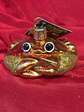 Crab Louie (12022) Old World Christmas Ornament