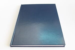 A6, A5 OR A4 'MANUSCRIPT OR A - Z INDEXED' HARDBACK 192 FEINT RULED PAGE BOOKS.