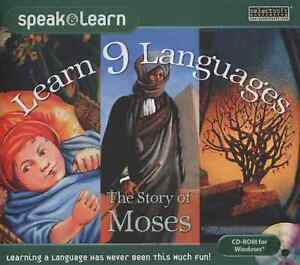 Speak and Learn: Learn 9 Languages with the Story of Moses CD-ROM for Windows