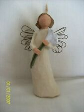 """Willow Tree Angel ornament """"Angel of Beauty"""" from 1999"""