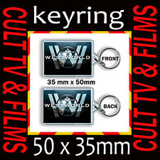 WESTWORLD - CULT TV - KEYRING- KEY CHAIN - KEY RING- 35mm X 50mm #1