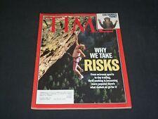 1999 SEPTEMBER 6 TIME MAGAZINE - WHY WE TAKE RISKS - T 3024