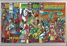 Youngblood 1-5 Image Comics complete run 1 2 3 4 5 Rob Liefeld DC Relaunch