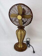 """Deco Breeze Large Table 3 Speed Electric Fan DBF-0448 2006 13"""" Fan 31"""" Tall"""