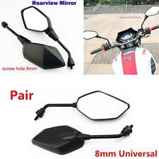 280*90MM 2PCS Motorcycle 360 degrees Rotate Rearview Rear View Side Mirror