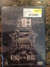 WWE - King of the Ring 2001 (DVD, 2001)NEW Authentic US Release WWF RARE OOP