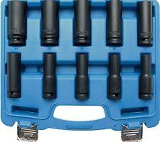 llaves de zócalo vaso para transmisión impacto 1/2 Profundo 10-24mm 10 pcs.