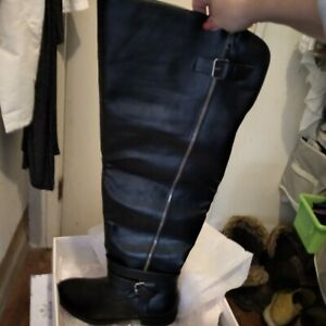Delamare Over-The-Knee Flat Boot