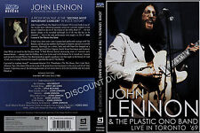 John Lennon - Live In Toronto 1969 (DVD, 2009) NEW ITEM