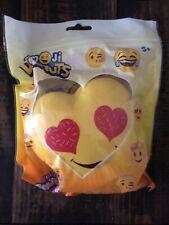 New Genuine Silly Squishies Donut Emoji Love Eyes