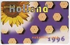 Telefoonkaart / Phonecard Nederland TB008 ongebruikt - Vakantie 1996