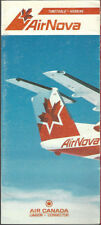 Air Nova system timetable 4/26/87 [9011]