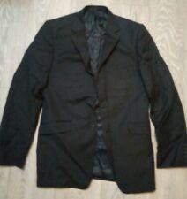 MENS Black pinstripe  Suit JACKET Office etc  JOHN LEWIS 38L