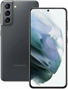 "Samsung S21 5G 6.2"" 128GB Unlocked Sim Free Smartphone - Phantom Grey A"