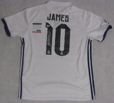 JAMES RODRIGUEZ Hand Signed Soccer Jersey+ PSA DNA COA *BUY GENUINE* REAL MADRID
