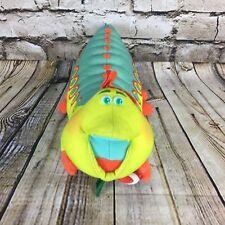 """Disney Pixar A Bug's Life Heimlich 1998 Candy Cane 13"""" Plush Doll by Mattel"""
