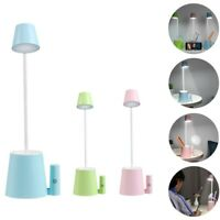 10 LED Desk Light Bedside Reading Lamp Dimmable Rechargeable Table Touch Control