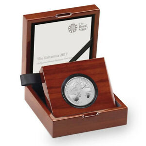 2017 Royal Mint 30th Anniversary PLATINUM PROOF 1/4 Ounce - Boxed with Cert