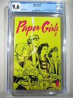 PAPER GIRLS #1 CGC 9.6 WP 1st Appearance  Optioned Netflix Tv Series Graded