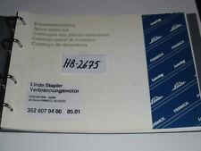 HB-2675 Ersatzteil Katalog f Verbrennungsmotor vom Linde Stapler H35/H40/H45-03/