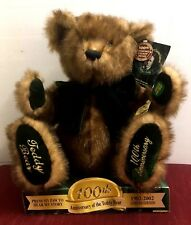 Teddy Bear Talking 100th Anniversary Limited Edition Theodore Roosevelt 2002