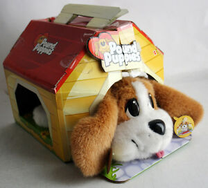 """AMAZING VERY RARE 2004 POUND PUPPIES CARRY & PLAY 12""""/30cm MATTEL NEW MISB !"""