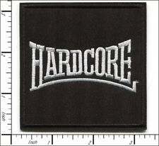20 Pcs Embroidered Iron on patches Hardcore Heavy Metal Badge Musice AP056hH