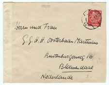 D.R. Auslands-Brief EF Mi.519 Wien 21.1.42/Niederlande mit OKW-Zensur