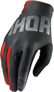 THOR VOID - Mens & Youth BLEND BLACK Dirt Bike Gloves - MX / ATV
