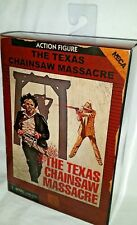 NECA NES TEXAS CHAINSAW MASSACRE Video Game LEATHERFACE 8-bit horror figure