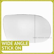 Right Driver Side WIDE ANGLE WING DOOR MIRROR GLASS For Vauxhall Sintra 96-99