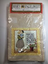 Mary Engelbreit Cotton Lunch Bag Sack Reusable Earth Image Designs Washable