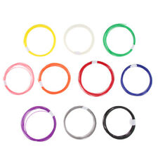 3D Printer Filament ABS 1.75mm For Printers ,Print Pens 10Colors 10m
