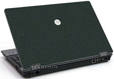 LEATHER Vinyl Lid Skin Cover Decal fits HP ProBook 6550b Laptop