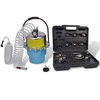 Portable Pneumatic Air Pressure Kit Brake and Clutch Bleeder Valve System Kit
