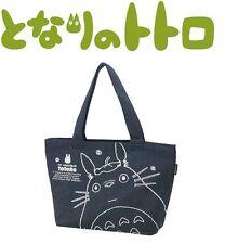 Skater Studio Ghibli My Neighbor Totoro Denim Canvas Tote Lunch Bag Purse KDM1