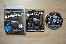 Ps3-Naughty Bear - (OVP, con instrucciones)